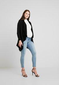Forever Fit - SIDE - Jeans Skinny Fit - mid blue wash - 1