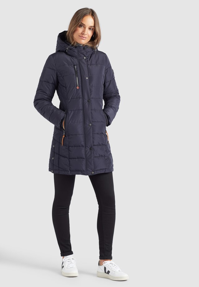 DELINAS - Winter coat - dunkelblau