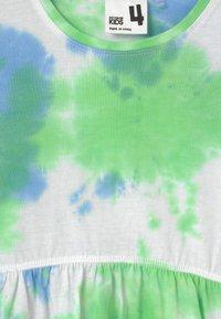 Cotton On - FREYA SHORT SLEEVE - Jersey dress - dusk blue/spearmint - 2