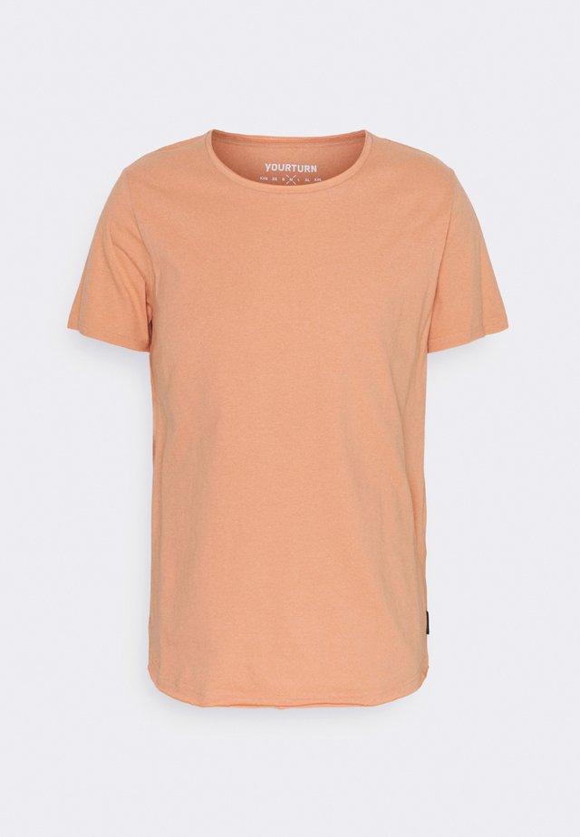 UNISEX - T-shirt - bas - brown