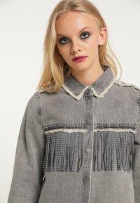 myMo ROCKS - Button-down blouse - grau - 3