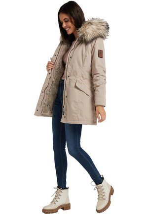 CRISTAL - Winter coat - beige