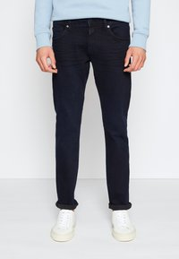 TOM TAILOR DENIM - PIERS - Slim fit jeans - blue/black denim - 0