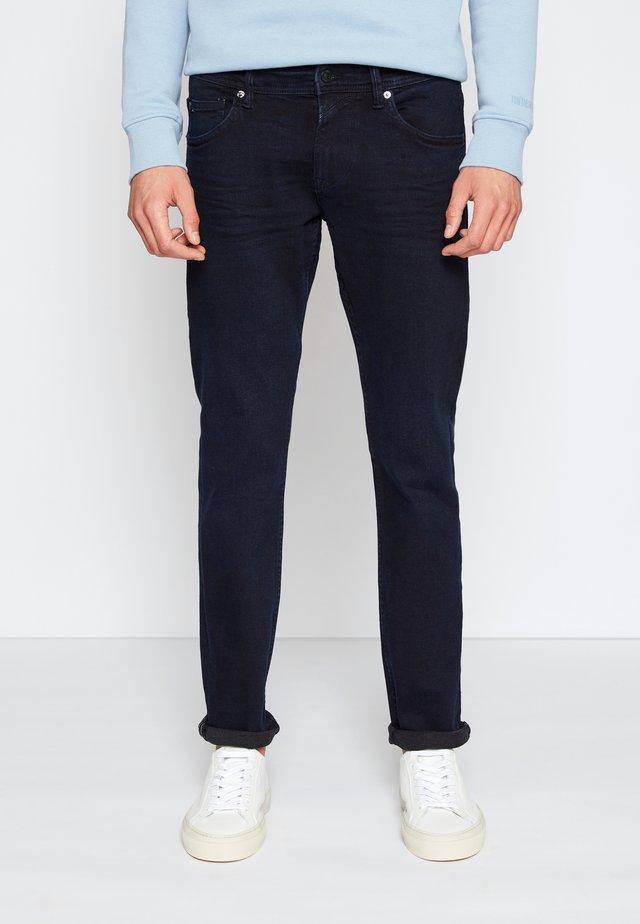 PIERS - Džíny Slim Fit - blue/black denim
