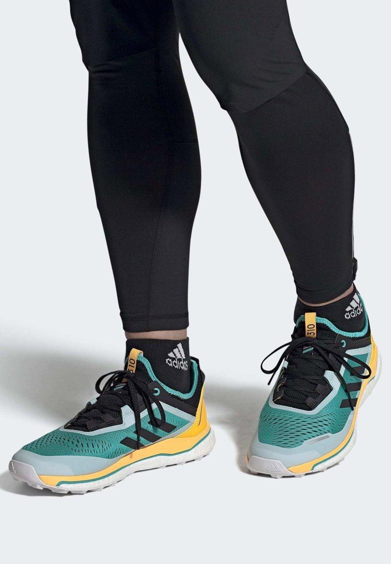 adidas Performance - TERREX AGRAVIC FLOW SHOES - Obuwie do biegania Szlak - turquoise