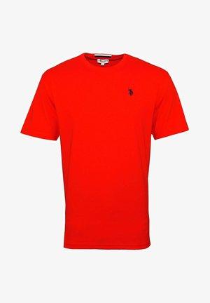MIT RUNDHALSAUSSCHNITT SHORTSLEEVE - T-shirt basic - rot