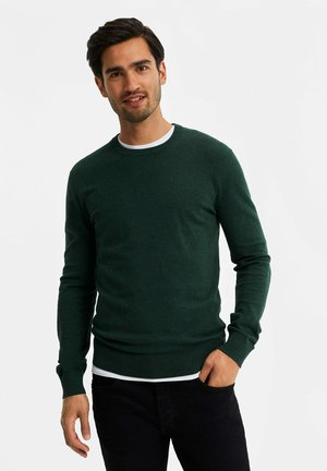 Jumper - moss green