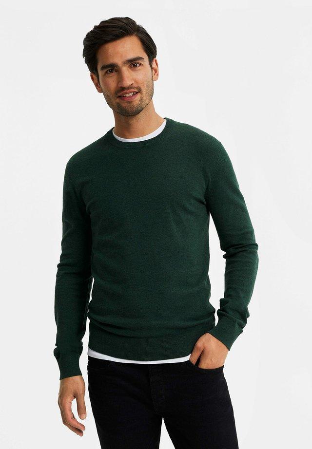 Jersey de punto - moss green