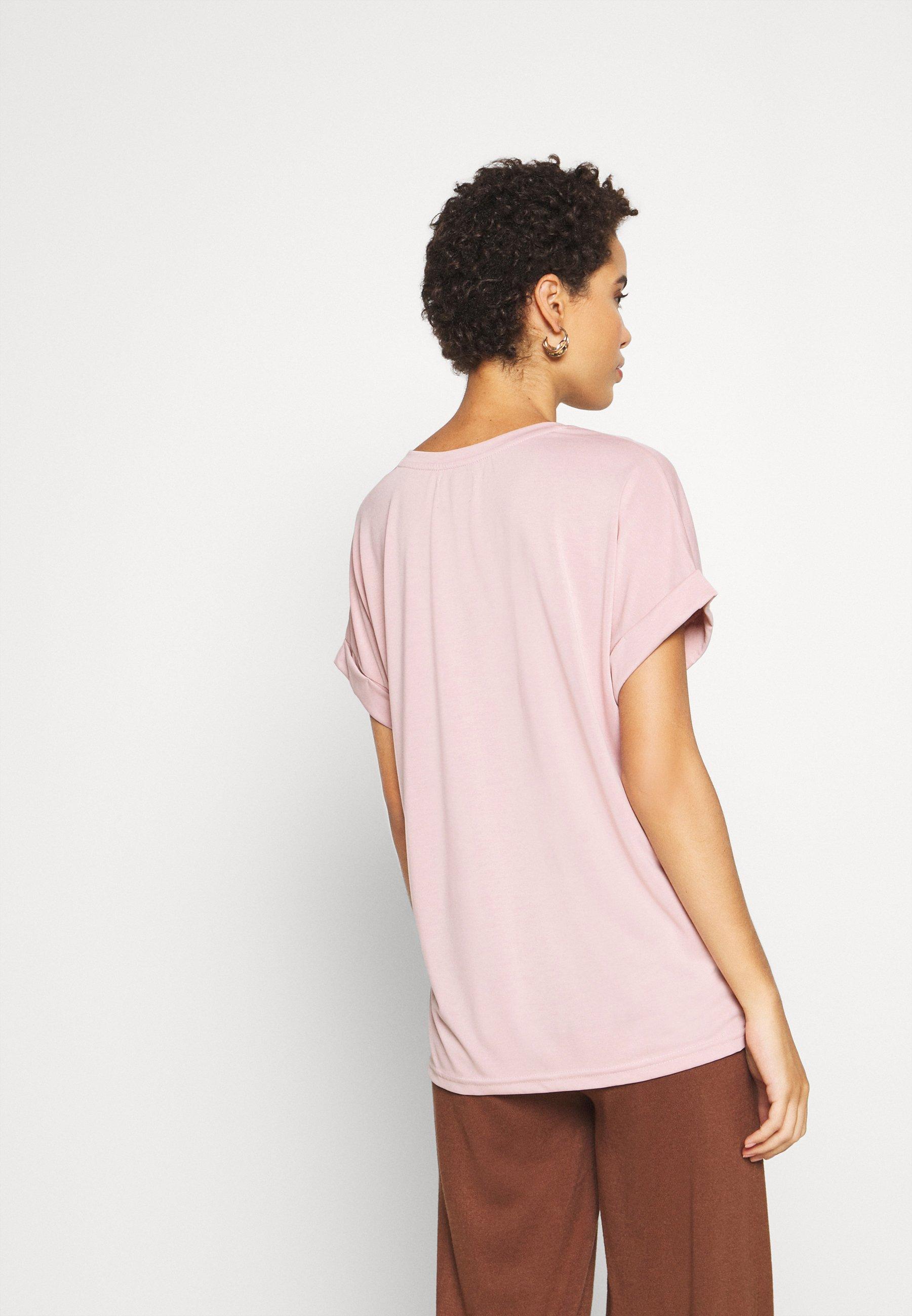 Culture Kajsa - T-shirts Pale Mauve/lyserosa