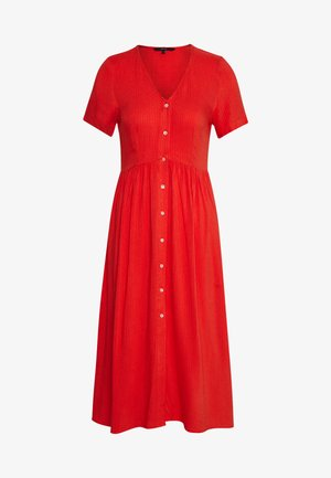 VMOMA CALF DRESS - Skjortekjole - aurora red