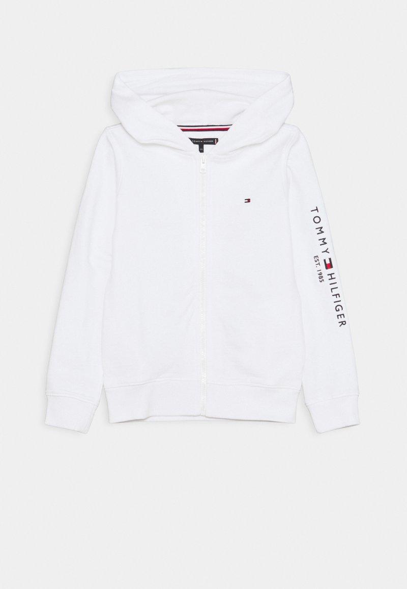 Tommy Hilfiger - ESSENTIAL HOODED ZIP THROUGH - Zip-up hoodie - white