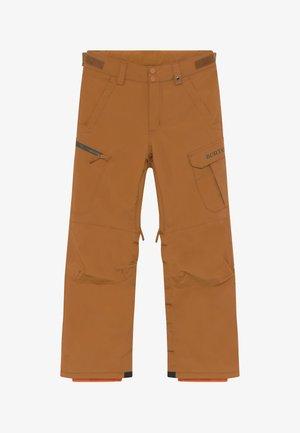 EXILE TRUE PENNY - Spodnie narciarskie - camel