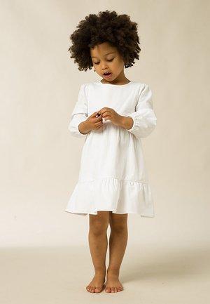 MIT PUFFÄRMEL - Day dress - bright white