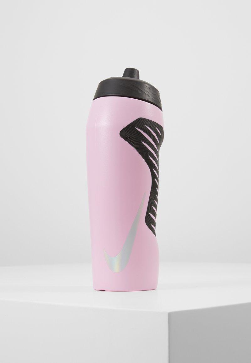 Nike Performance - HYPERFUEL 709ML UNISEX - Drink bottle - pink rise/black/black/iridescent
