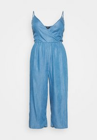 Simply Be - STRAPPY WRAP CULOTTES - Combinaison - mid blue - 3