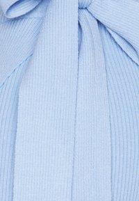 Glamorous Tall - TIE WAIST WRAP SKIRT - Pencil skirt - powder blue - 2