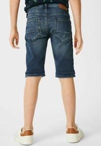 C&A - Denim shorts - denimblue - 1
