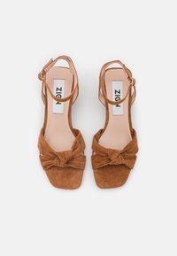 Zign - Sandals - cognac - 5