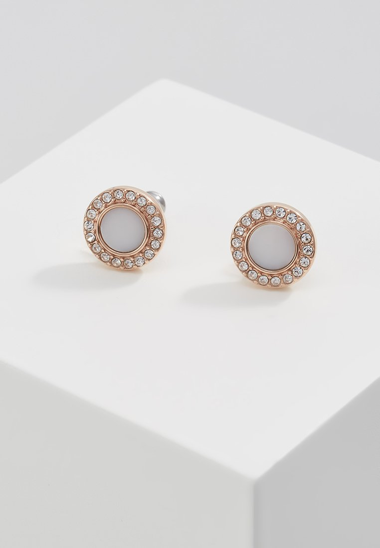 Fossil - CLASSICS - Earrings - rose gold-coloured