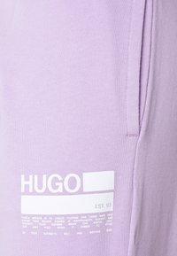 HUGO - NAJOGGER - Teplákové kalhoty - bright purple - 2