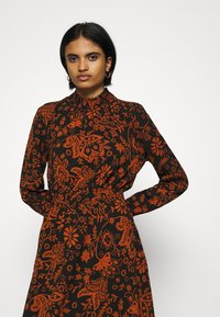 ONLY - ONLNOVA LUX SMOCK BELOW KNEE DRESS - Day dress - black - 5
