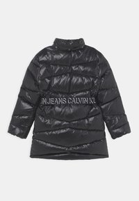Calvin Klein Jeans - BELTED LONG COAT - Daunenmantel - black - 3