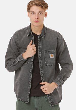 Shirt - worn bleached black