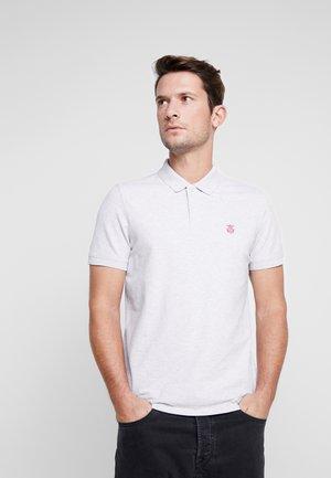 SHHARO EMBROIDERY - Polo shirt - gray violet/melange