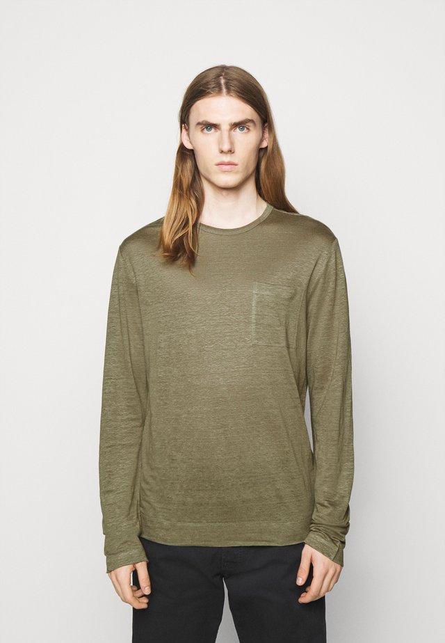 DAVIS - Maglietta a manica lunga - lake green