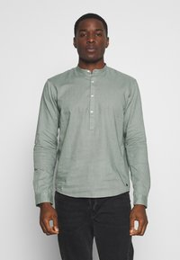 TOM TAILOR DENIM - MIX TUNIC - Košile - dusty leave green - 0