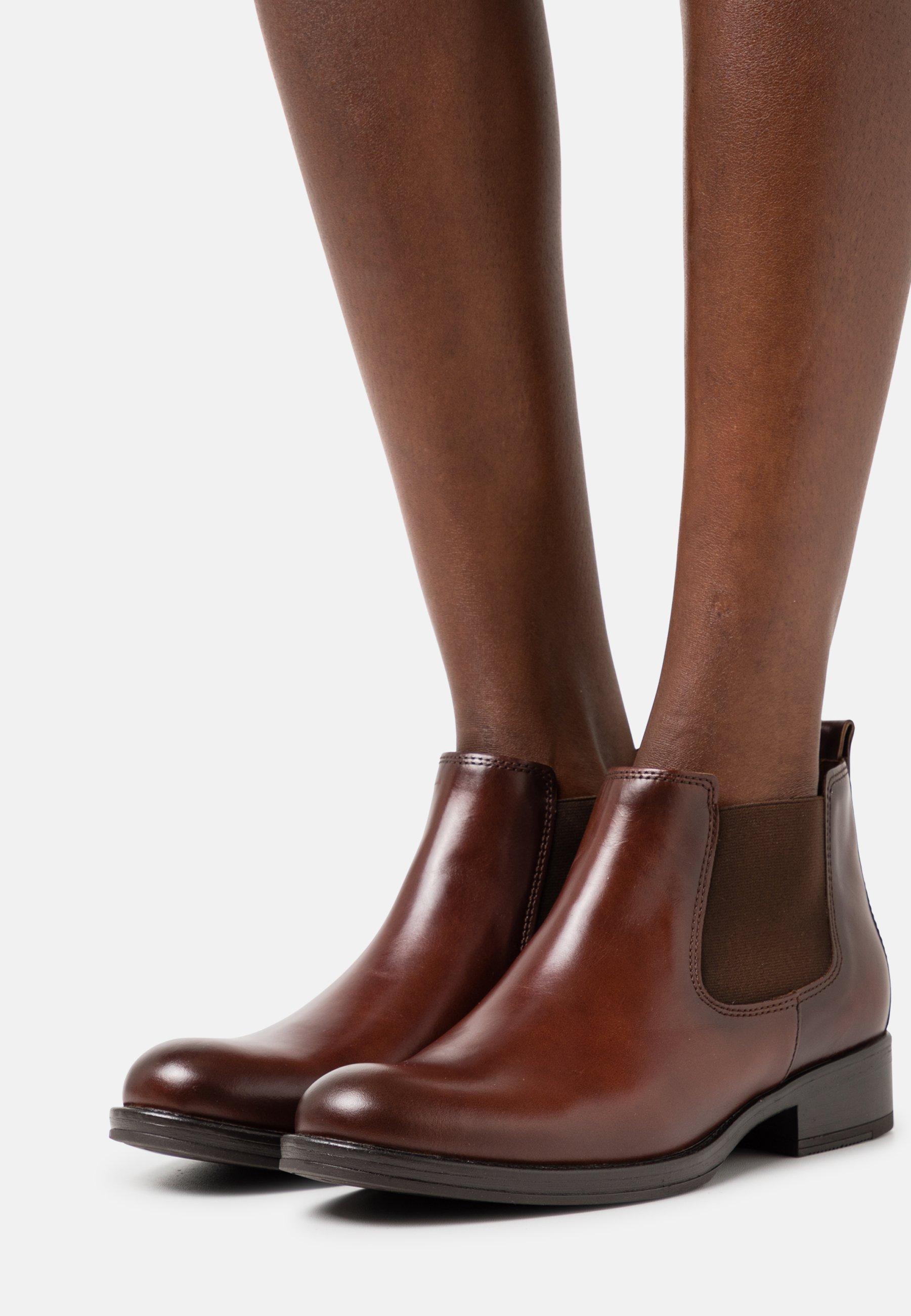Damen Ankle Boot - sattel