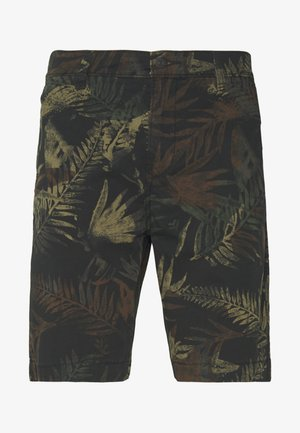 Shorts - dark green/black