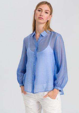 HEMDBLUSE - Button-down blouse - blue