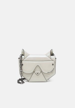 CYBER CHOUPETTE FLAP CROSSBODY - Across body bag - pearl