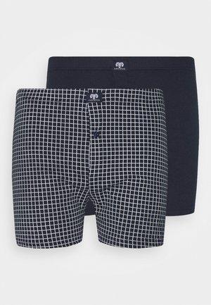 2 PACK - Boxer shorts - blue dark allover