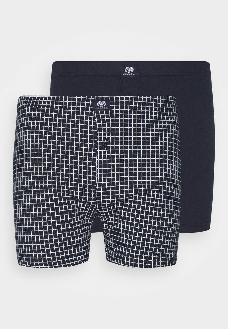 Ceceba - 2 PACK - Boxer shorts - blue dark allover