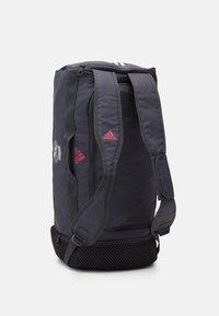 adidas Performance - REAL MADRID SPORTS FOOTBALL DUFFEL BAG UNISEX - Club wear - grey five/white/pink - 4