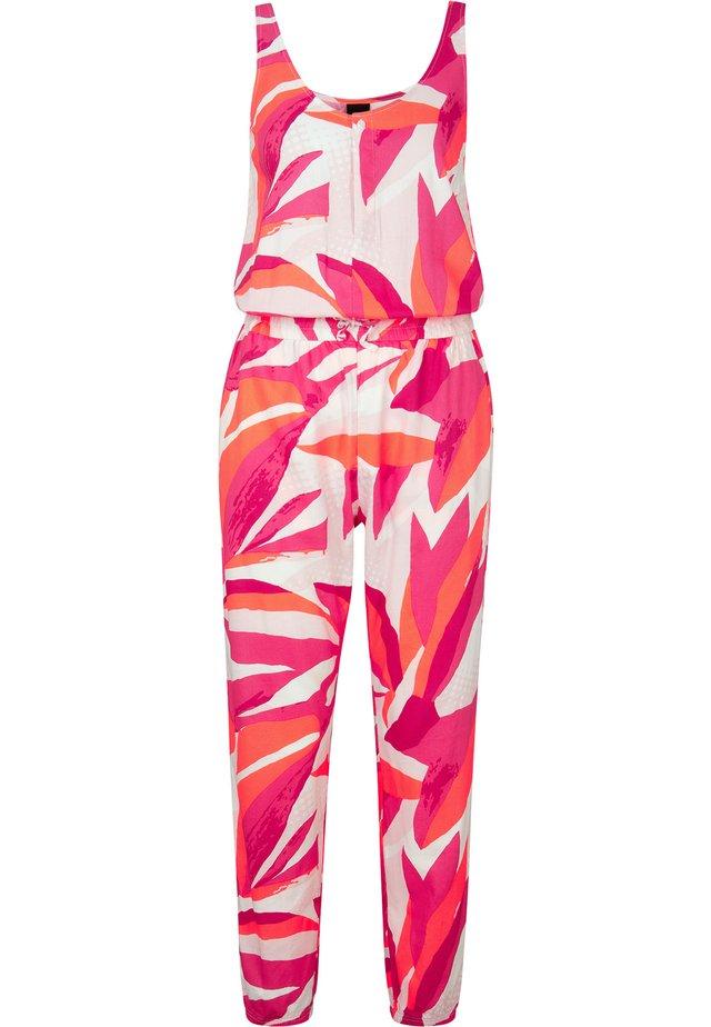 VESNA - Jumpsuit - rot/rosa
