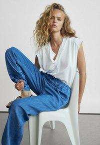 Massimo Dutti - T-shirts basic - white - 1