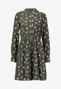VMFALA SHORT DRESS - Abito a camicia - peat/fala