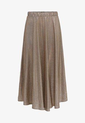 A-line skirt - cement