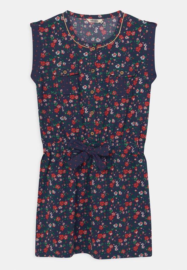 DITSY FLORAL - Shirt dress - navy