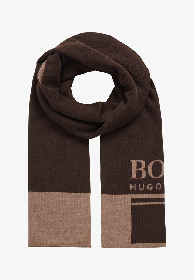 ALBO - Scarf - dark brown