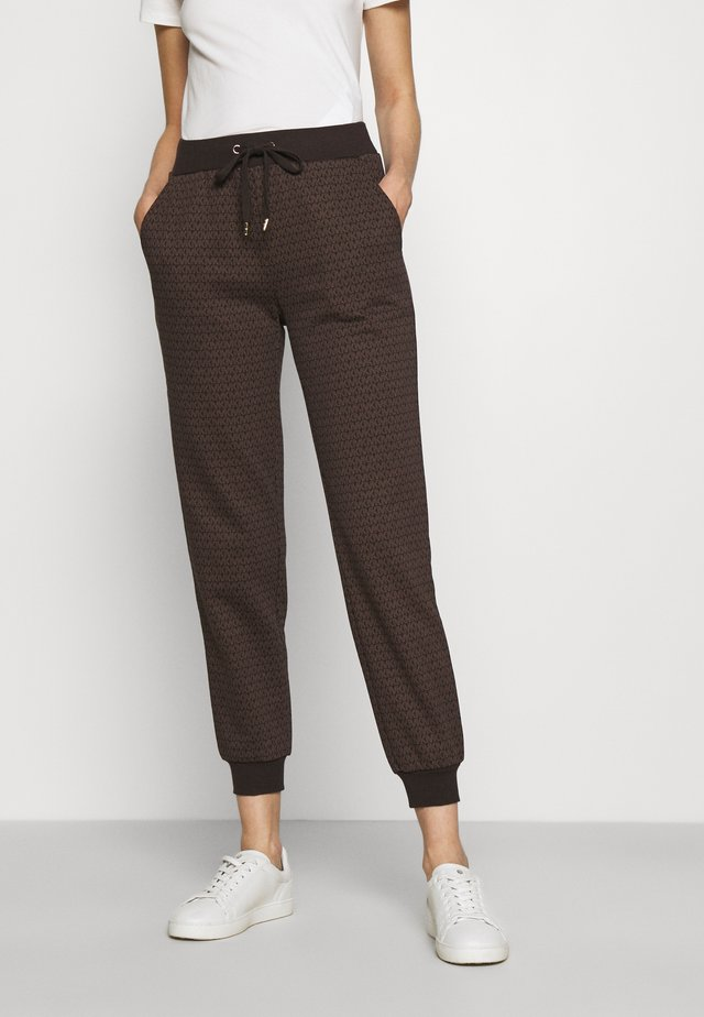 SPORT JOGGER - Tracksuit bottoms - chocolate