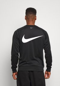 Nike Sportswear - CREW - Bluzka z długim rękawem - black/white - 2