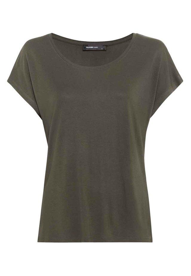 WEIT GESCHNITTENES - T-shirt basic - fango