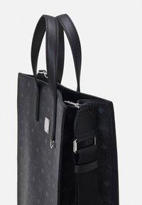 MCM - TOTE MED UNISEX - Tote bag - black - 3