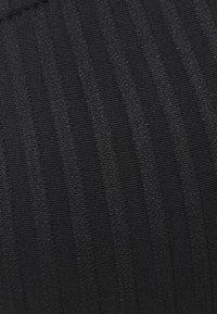 Cotton On Body - GATHERED BRALETTE BRAZILIAN SET - Bikini - black - 5