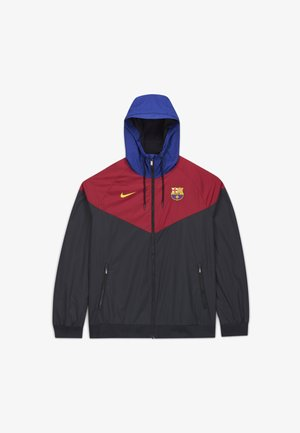 FC BARCELONA - Klubtrøjer - black/noble red/black/amarillo