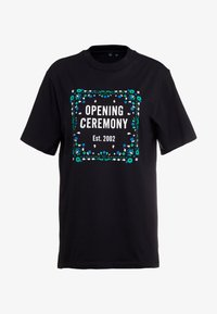 Opening Ceremony - BANDANA BOX TEE - Print T-shirt - black - 4